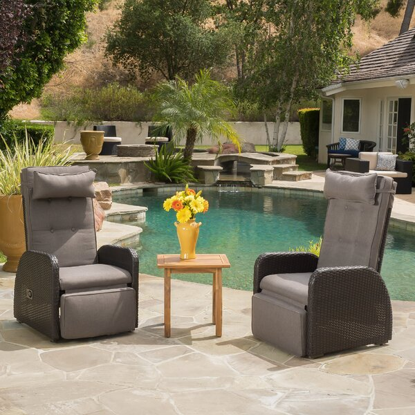 Keenes Arm Chair with Cushion (Set of 2) by Darby Home Co