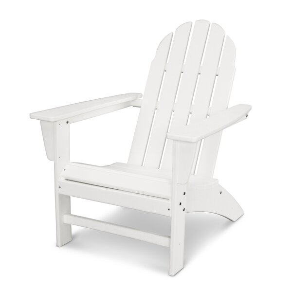 Vineyard Wood Adirondack Chair by POLYWOOD®