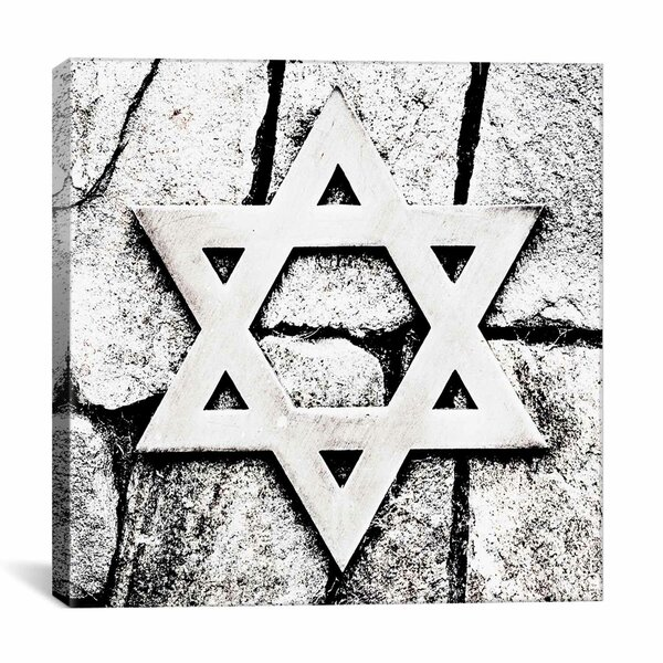 Star of David Photographic Print on Wrapped Canvas by iCanvas