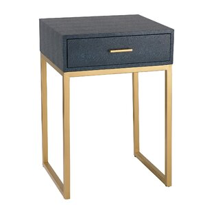 Selah Shagreen End Table by Willa Arlo Interiors