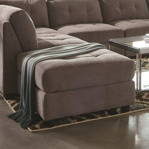 Mullenax Transitional Tufted Ottoman by Winston Porter