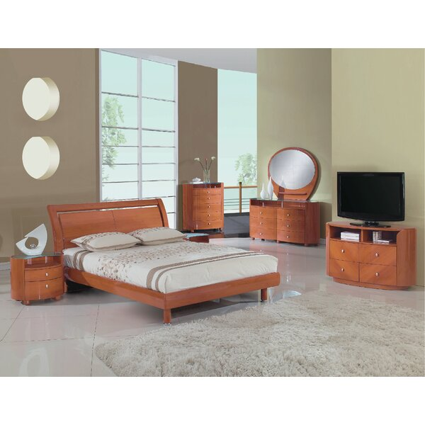Bernstein Platform 4 Piece Bedroom Set by Latitude Run