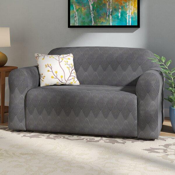Levine Box Cushion Sofa Slipcover by Red Barrel Studio