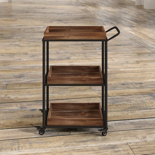 Anvesh 3 Tier Bar Cart by 17 Stories 17 Stories