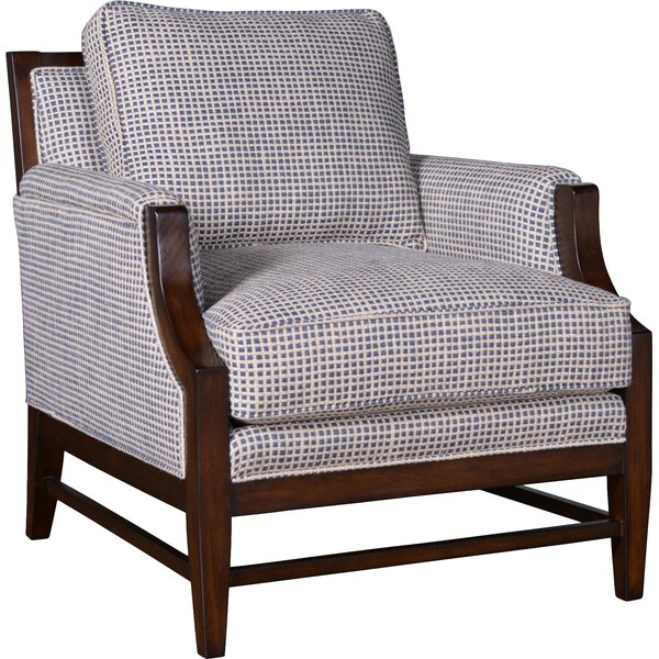 Marylhurst Linen Armchair by Canora Grey