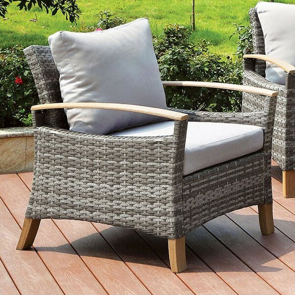 Joanna Patio Chair with Cushion by Foundry Select