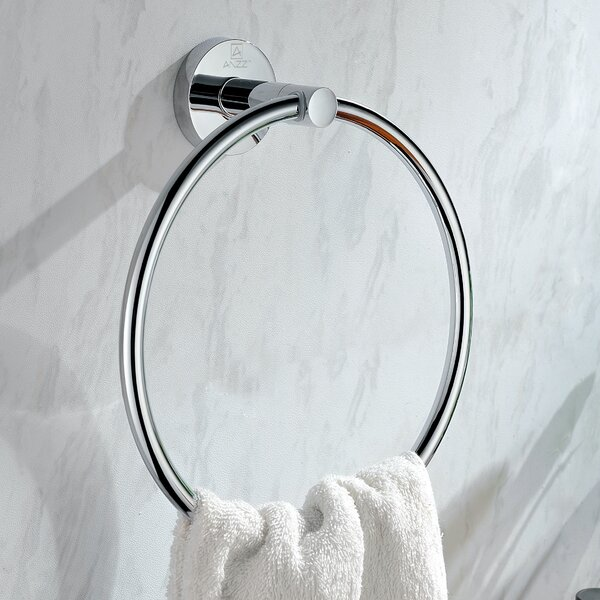 Caster Towel Ring by ANZZI