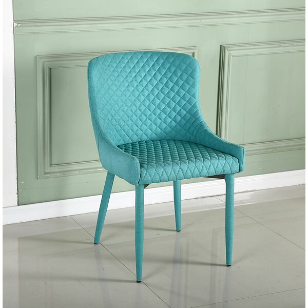 Chouteau Upholstered Dining Chair (Set of 2) by Brayden Studio