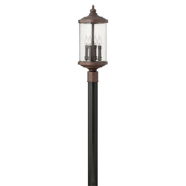 Clouden Outdoor 4-Light Lantern Head by Fleur De Lis Living