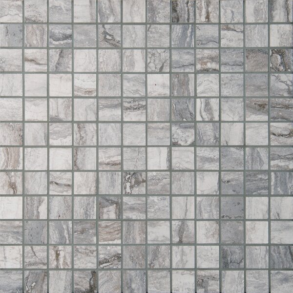 Bernini Carbone 2 x 2 Porcelain Mosaic Tile in Gray by MSI