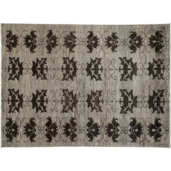 One-of-a-Kind Ziegler Hand-Knotted Gray Area Rug by Darya Rugs