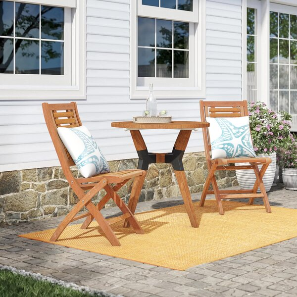 Roseland 3 Piece Bistro Set by Beachcrest Home