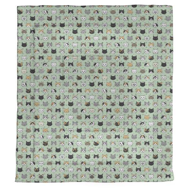 Avicia Kitty Cat Single Reversible Comforter