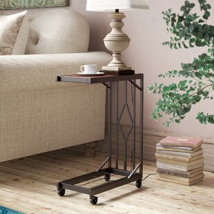Aiyana Mobile Snack End Table