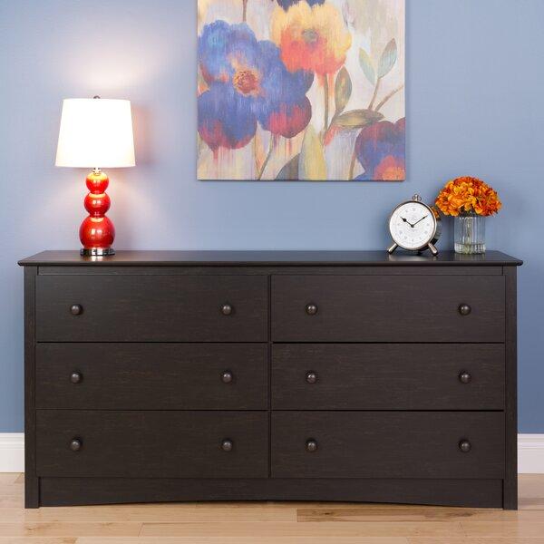 Kohen 6 Drawer Double Dresser by Red Barrel Studio