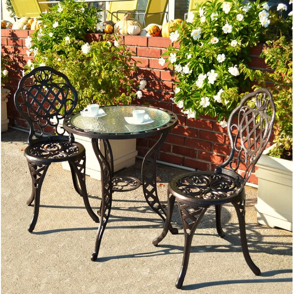 Parkton 3 Piece Bistro Set by Astoria Grand