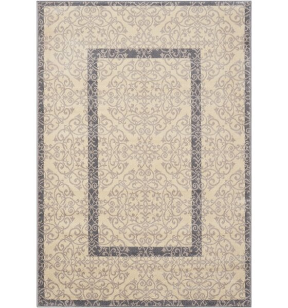 Coulston Ivory Indoor Area Rug by Charlton Home