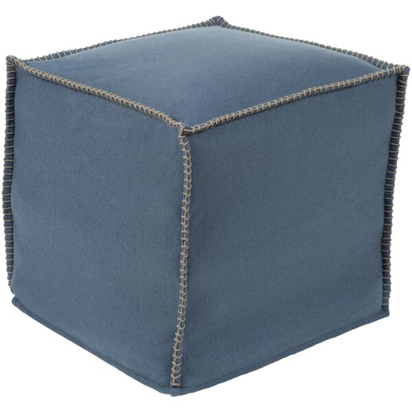 Bromyard Solid Pouf by Highland Dunes