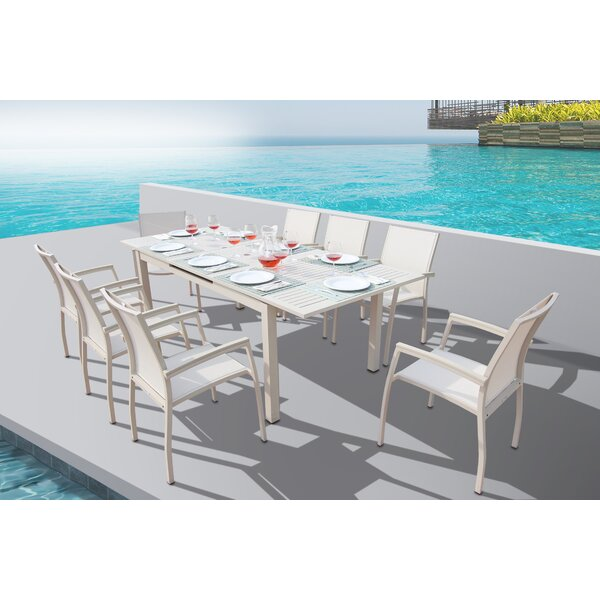 Daucourt 9 Piece Dining Set by Brayden Studio