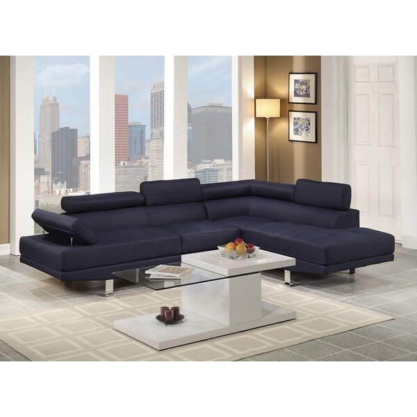 Clandown Vegas Right Hand Facing Sectional by Wade Logan