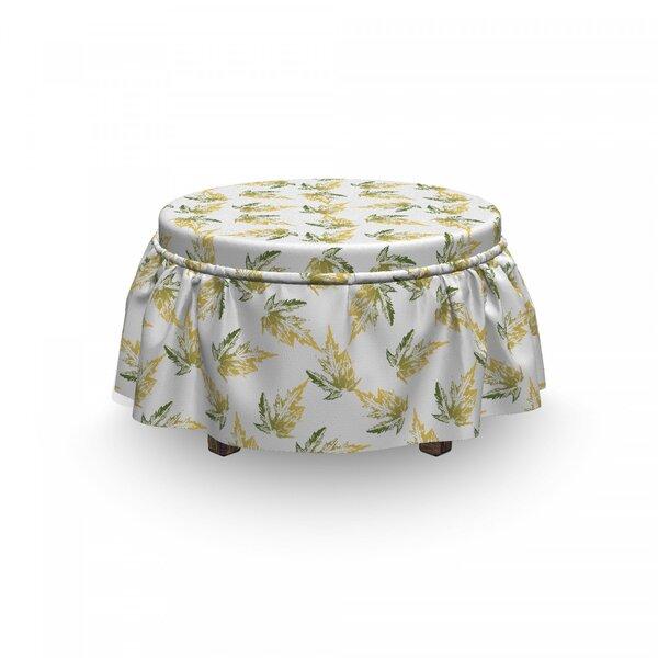 Read Reviews Box Cushion Ottoman Slipcover