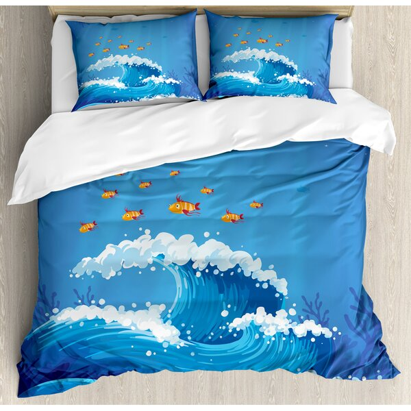 Marine Duvet Cover Set by Ambesonne