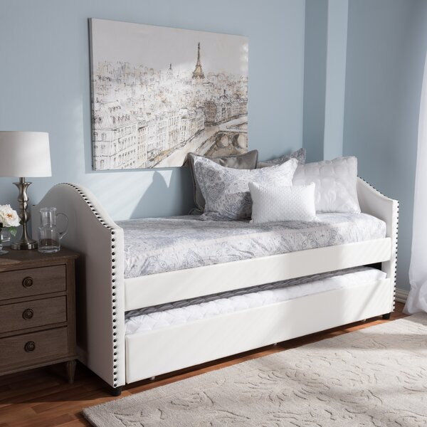 Dollie Twin Platform Bed with Trundle by Harriet Bee