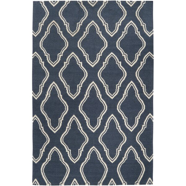 Findley Slate Blue Area Rug by Darby Home Co