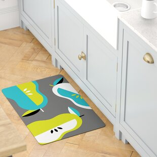 Curtice Giant Pears Kitchen Mat