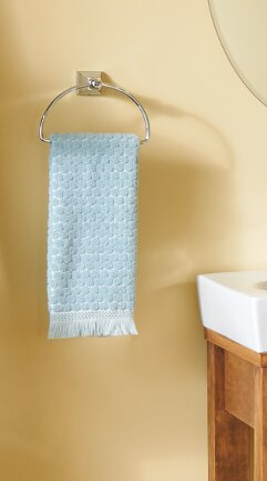 Retreat Wall Mounted Towel Ring by Moen