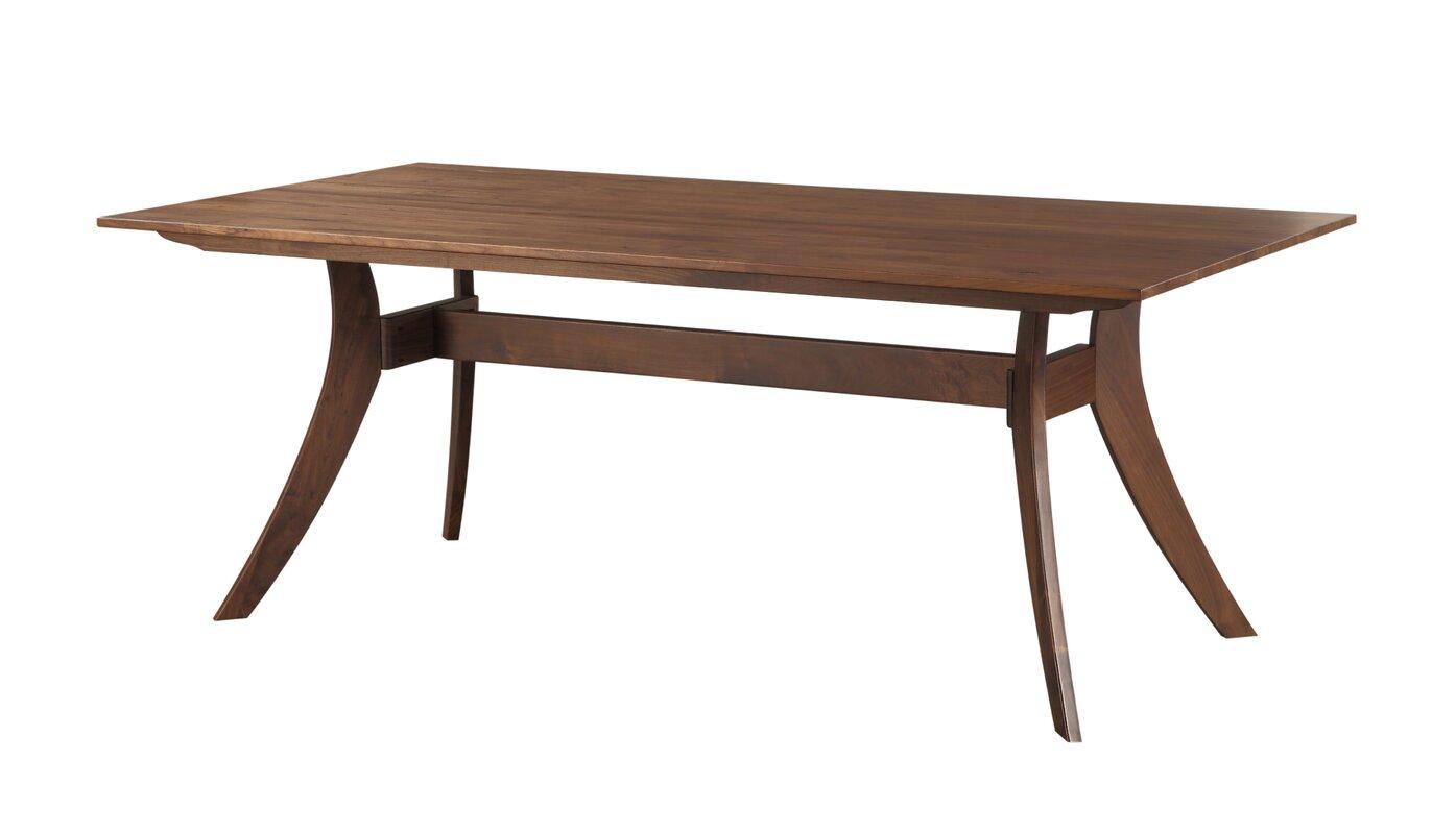 Mesa rectangular dining table reviews birch lane - Mesa rectangular ...