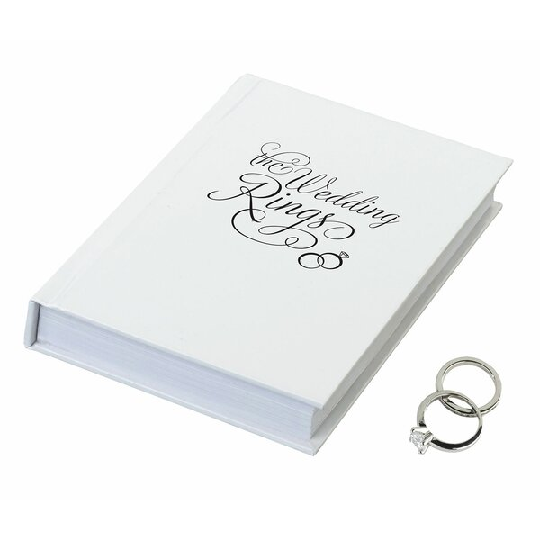 The Wedding Rings Ring Bearer Book Box by Lillian Rose