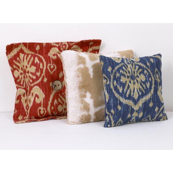 Zechariah 3 Piece Cotton Throw Pillow Set by Zoomie Kids