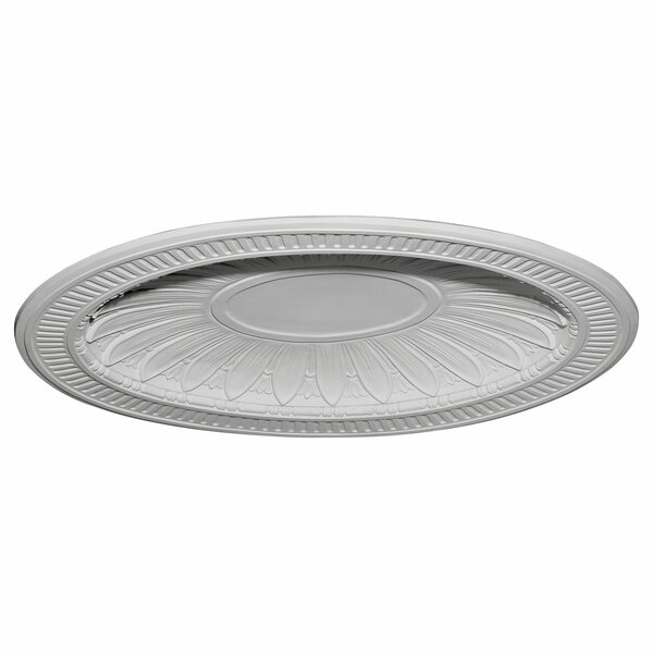 Devon 35 1/2H x 45W x 3 3/4D Recessed Mount Ceiling Dome by Ekena Millwork