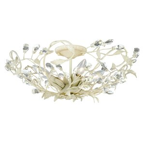 Lehoux 4-Light Semi Flush Mount