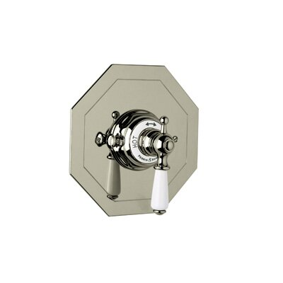 PERRIN & ROWE® OCTAGONAL CONCEALED THERMOSTATIC TRIM by Rohl