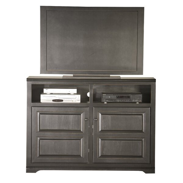 Review Wentzel Solid Wood TV Stand For TVs Up To 60