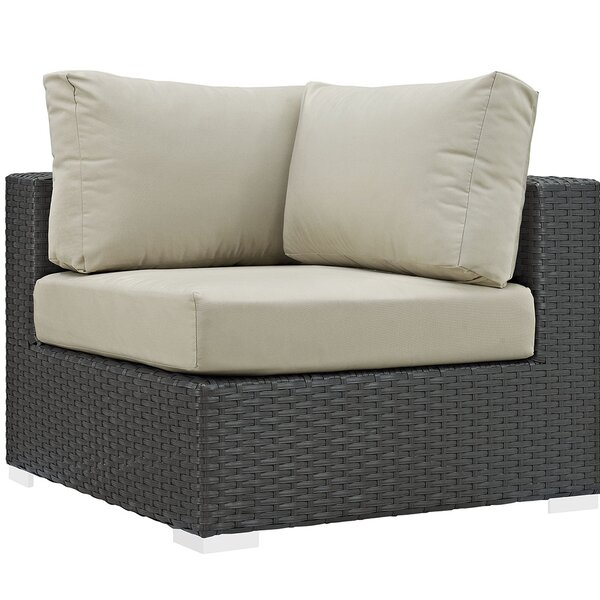 Tripp Corner Chair with Cusions by Brayden Studio