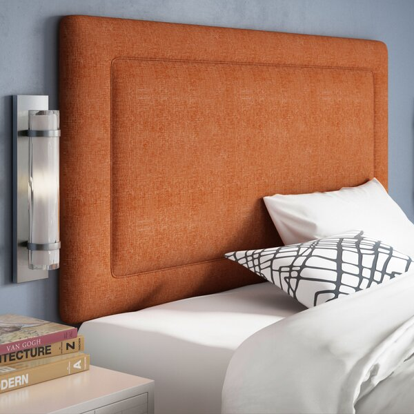 Cansler Upholstered Panel Headboard by Brayden Studio