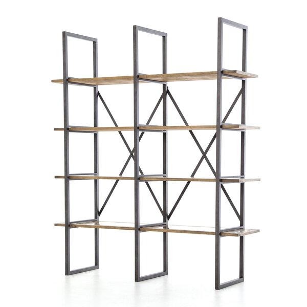 Courtlyn Clad Etagere Bookcase by 17 Stories