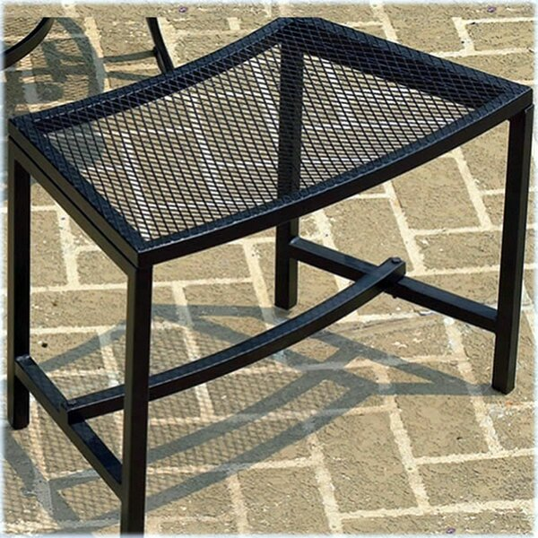 Fort Collins Metal Mesh Fire Pit Bench by Charlton Home
