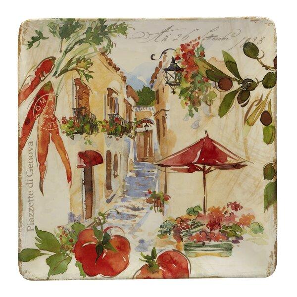 Chaparro Square Platter by Fleur De Lis Living