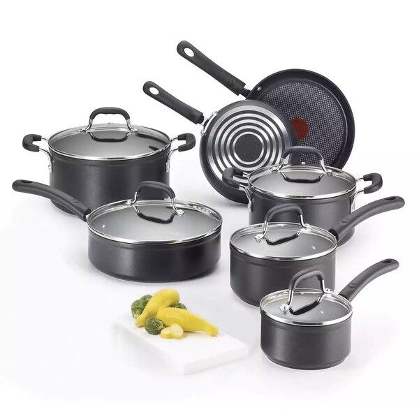 12-Piece Non-Stick Cookware Set by T-fal