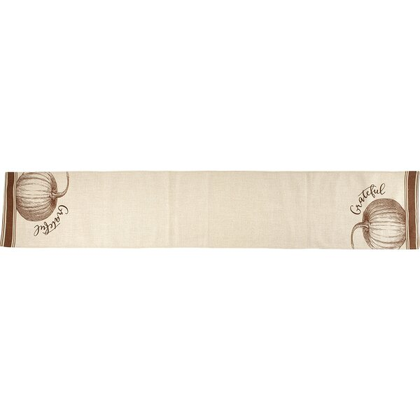 Bountiful Blessings Grateful Harvest Polyester Table Runner by Precious Moments