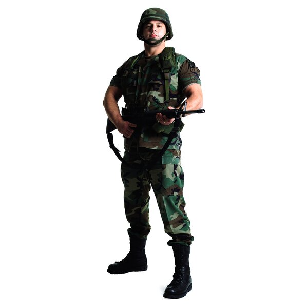 Modern Heroes Army Soldier Life-Size Cardboard Stand-Up by Advanced Graphics