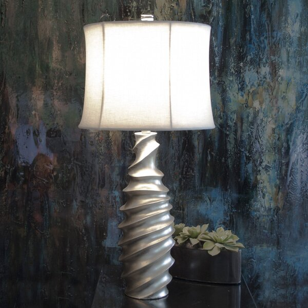 Resin Spiral 31 Table Lamp by Wildon Home ®
