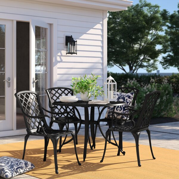 Carmen 5 Piece Dining Set by Sol 72 Outdoor