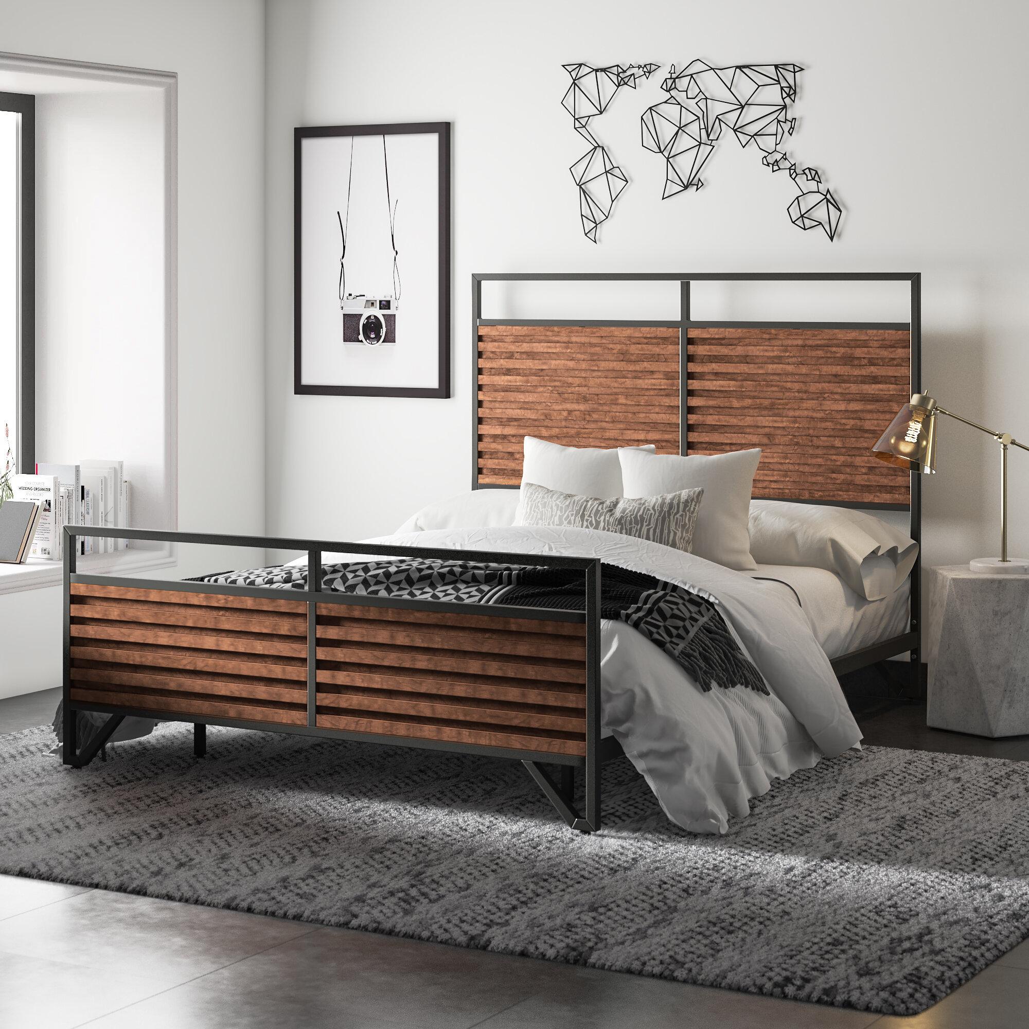 - Mercury Row Lund Sleigh Bed & Reviews Wayfair