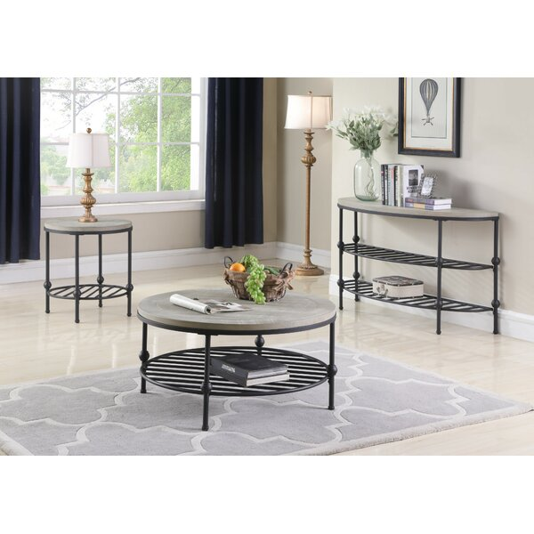 Connor 3 Piece Coffee Table Set by Foundry Select Foundry Select