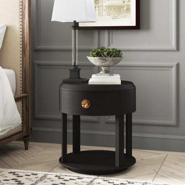 Pineville Modern Minimalist 1 Drawer Nightstand By Greyleigh by Greyleigh Savings